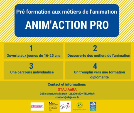 Anim'Action Pro - Dispositif SESAME
