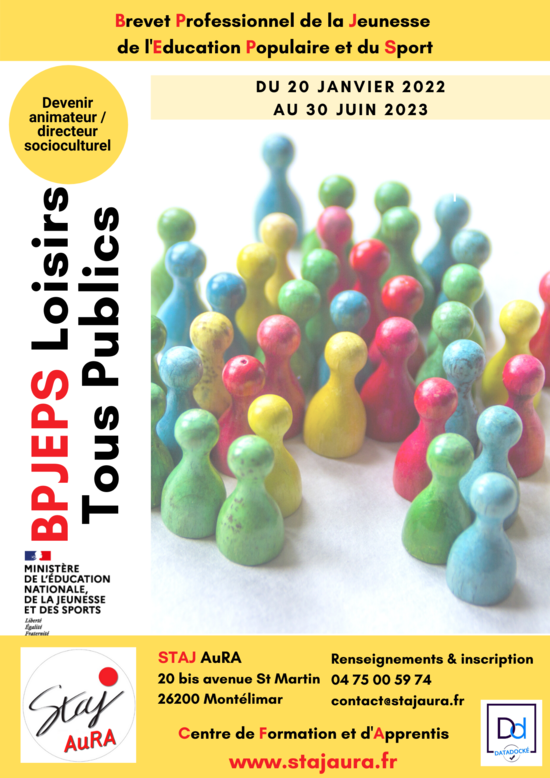 BPJEPS Loisirs Tous Publics - Promo 2